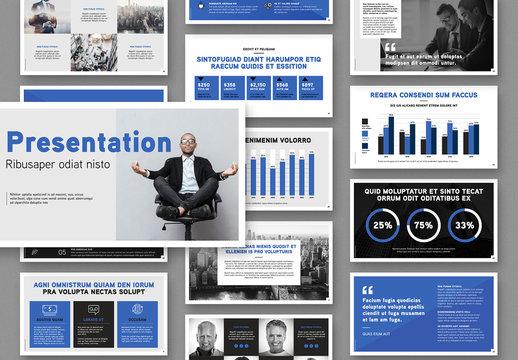 Business Presentation Slides Layout