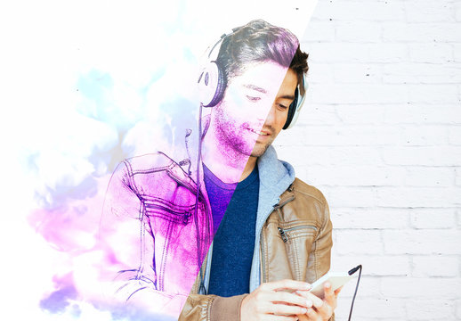 Watercolor Drawing Photo Effect