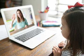 Online learning at home for kids