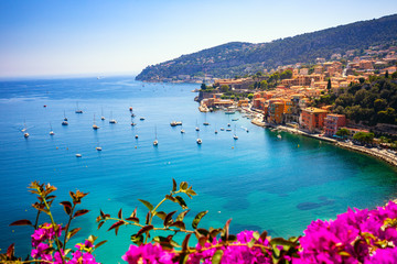 Villefranche sur Mer in French Riviera