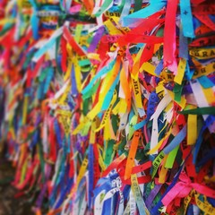 Wish Ribbon Outside Church