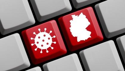 Online Informationen: Deutschland und das Coronavirus