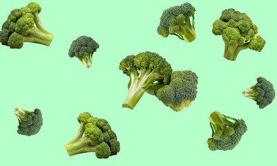 Foto auf AluDibond London Broccoli.