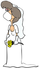 Covid-19 bride