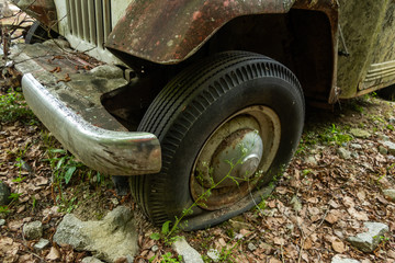 さびた旧車 Rust of old cars