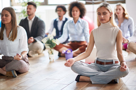 Office money attraction meditation, meditation and business
