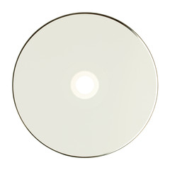 Fototapeta Płyta CD, DVD, BR przód, na białym tle. obraz