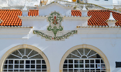 Albufeira old town art gallery