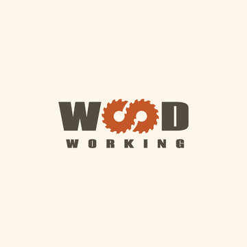 Wood working logo