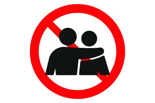 avoid hug icon