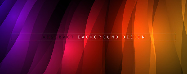 Trendy simple fluid color gradient abstract background with dynamic wave line effect. Vector Illustration For Wallpaper, Banner, Background, Card, Book Illustration, landing page Wall mural
