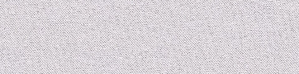 Coton canvas background in white color for your perfect design work. Seamless panoramic texture.