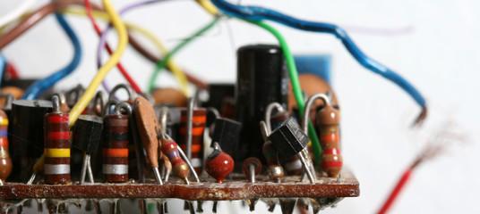 Obraz Close-up Of Circuit Board - fototapety do salonu