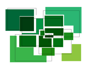 Green rectangle abstraction