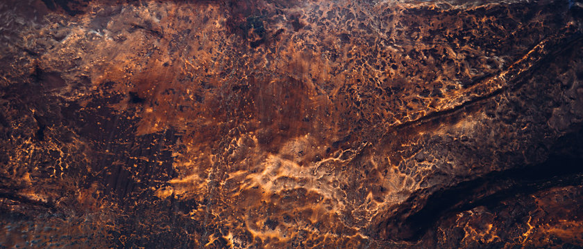 Copper texture. Natural material. Noble metal background