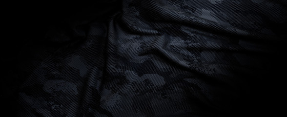 black camouflage military background