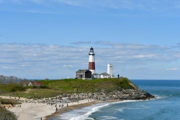 Montauk Lighthouse, Long Island, New York, USA.