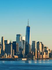Fototapete - New York City downtown skyline
