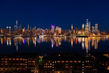 Fototapete - New York City midtown skyline