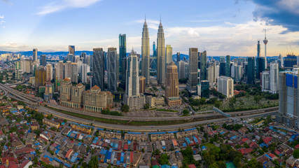 Foto op Canvas Kuala Lumpur Kuala Lumpur Skyline, Malaysia.