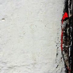 Detail Shot Of White Wall