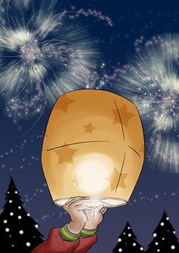 Wish Lantern
