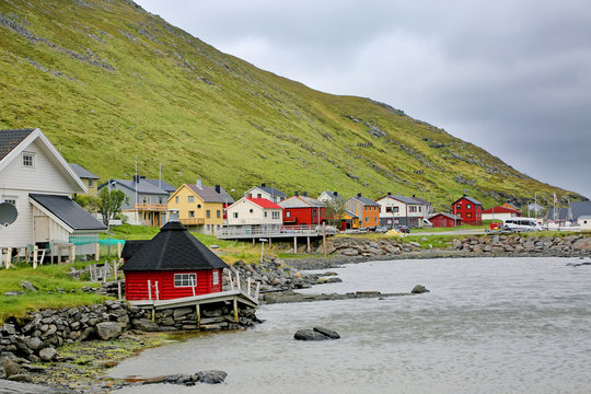 Skarsvag is a village on the island of Mageroya, Nordkapp Municipality in Troms og Finnmark county, Norway. It is the world's northern most fishing village.