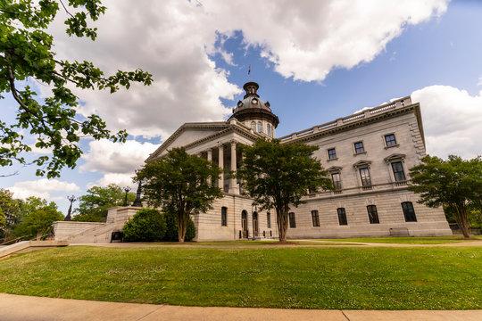 South Carolina State House In Columbia, South Carolina