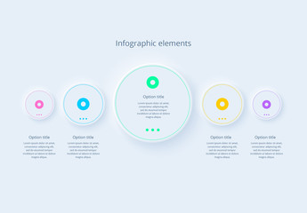 5 Step Infographic Layout