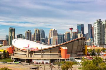 Calgary in sunny day, Canada