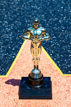 Oscar statues in Hollywood