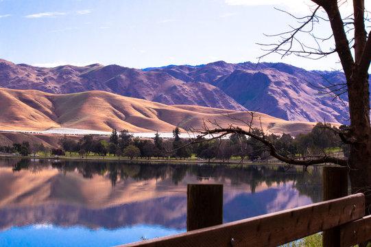 Lake Ming in Bakersfield, CA.