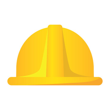 Isolated construction helmet