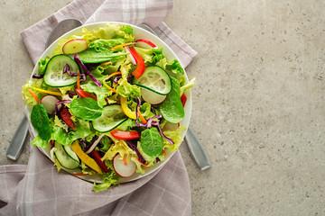 Salad mixed