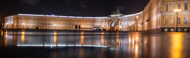 View of the Palace Square St. Petersburg.