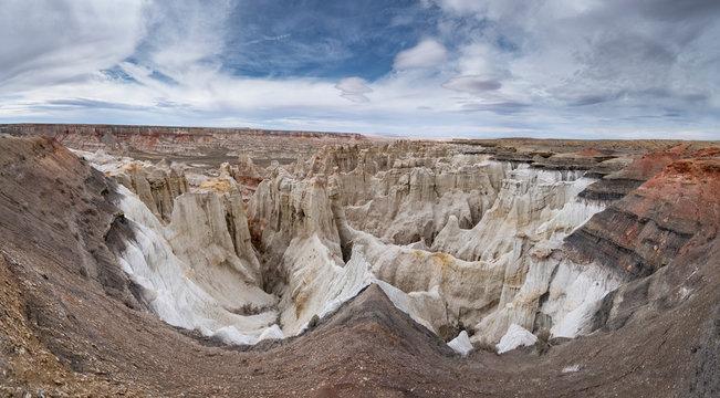 Massive Landscape Coal Mine Canyon on Navajo Reservation in Ariz