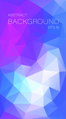 Vertical multicolor triangle background for you design