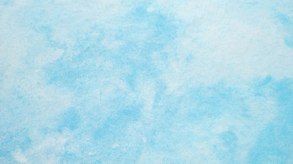 Watercolor background, Blue watercolour painting textured design on white paper background, Art abstract with copy space for banner, poster, wallpaper, backdrop