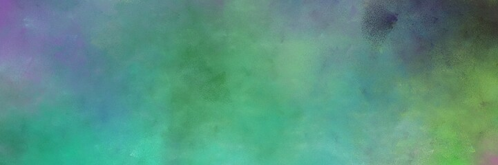 beautiful abstract painting background graphic with blue chill, dark slate gray and dark olive green colors and space for text or image. can be used as postcard or poster Wall mural