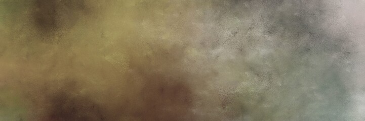 beautiful vintage abstract painted background with pastel brown and ash gray colors and space for text or image. can be used as horizontal background graphic Wall mural