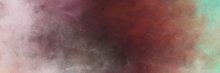 beautiful abstract painting background texture with old mauve, silver and rosy brown colors and space for text or image. can be used as postcard or poster Wall mural