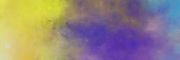 beautiful old lavender, dark khaki and golden rod colored vintage abstract painted background with space for text or image. can be used as postcard or poster Wall mural
