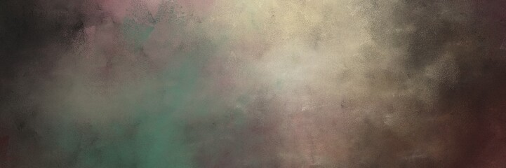 beautiful old mauve, tan and gray gray colored vintage abstract painted background with space for text or image. can be used as header or banner Wall mural