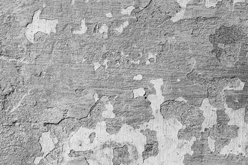 Papiers peints Vieux mur texturé sale Texture of concrete or plastered wall. Abstract backdrop for design with copy space for text.