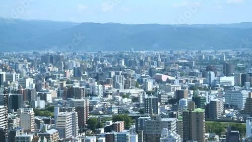 Wall mural 都市風景 熊本市 ノーマルスピード