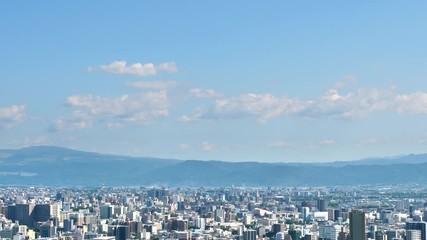 Wall Mural - 都市風景 熊本市 ノーマルスピード
