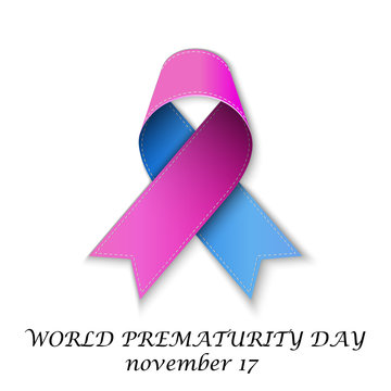 Day with Pink and Blue Ribbon.
