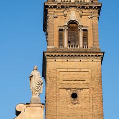 Fotomurales - Parma, Italy: San Giovanni Evangelista church