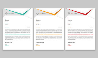Corporate Letterhead/Letterhead Template/Company Letterhead Design/Letterhead Template/Business Letterhead/Corporate Letterhead/Abstract Letterhead Template/Modern Letterhead Design
