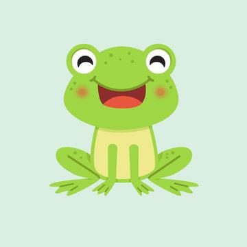 Happy smiling Frog